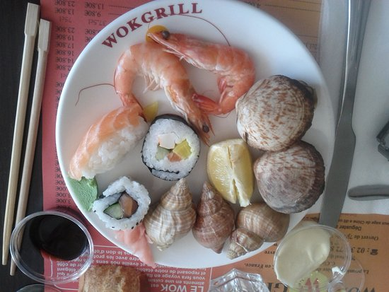 fruits de mer photo de wok grill le havre tripadvisor. Black Bedroom Furniture Sets. Home Design Ideas