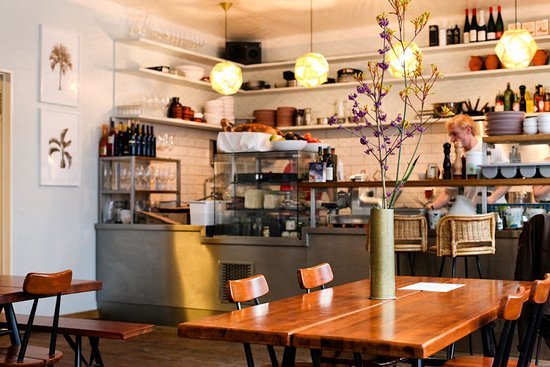 Photo of American Restaurant Mogg & Melzer Delicatessen at Auguststr. 11-13, Berlin 10117, Germany
