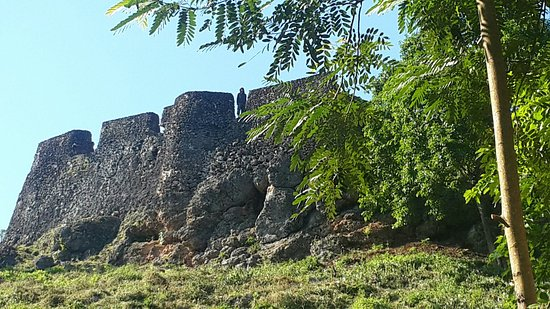 Baubau, Indonesia: The buton keraton fortress..