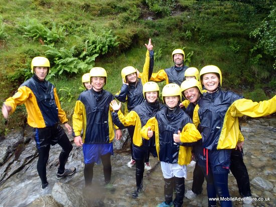 Mobile Adventure - Day Adventures: All enjoyed the Ghyll Scramble