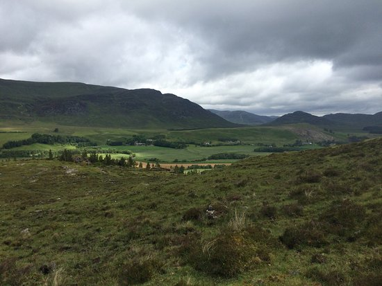 Newtonmore, UK: The opportunity to hike/walk from Gaskbeg is great.