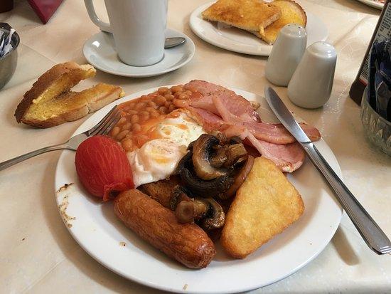 Dai's Diner, Llanbedr Pont Steffan / Lampeter - their delicious breakfast