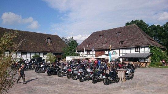 Albaxen, Germany: Innenhof