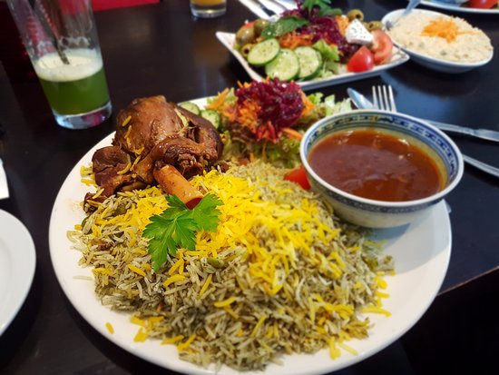 Image result for persian food baghali polo