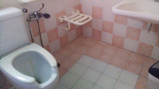 Hotel Grifo: Los viajeros con mobilidad reducida, encontrarán un baño adaptado 100% y totalmente accesible.