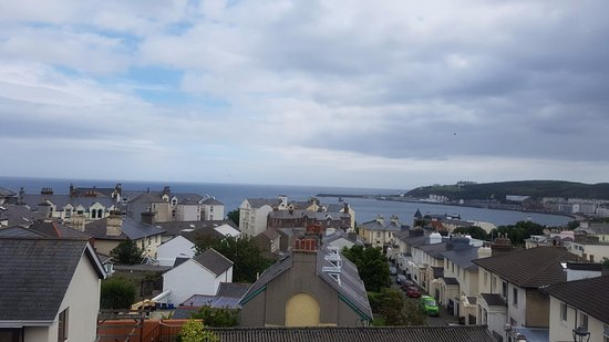 Sea view from top floor