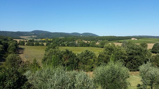 Siena House: View from Montepulciano suite