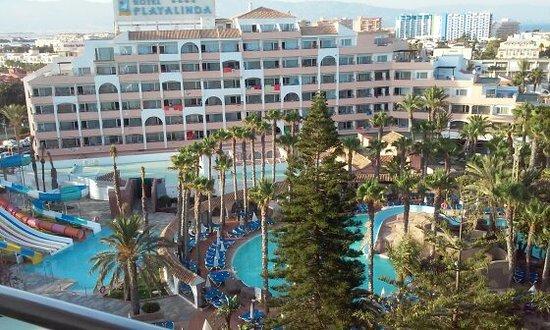 Playasol Spa Hotel: Muy buenas vistas y sin ruidos
