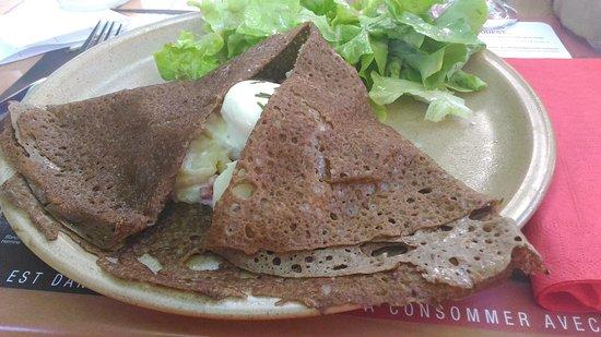 creperie des remparts : galette sancerroise