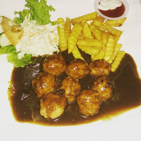 Pulau Pangkor, Malaysia: Meatball Blackpepper