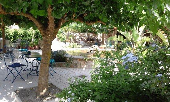 Tsivouli Park B&B: Il cortile interno