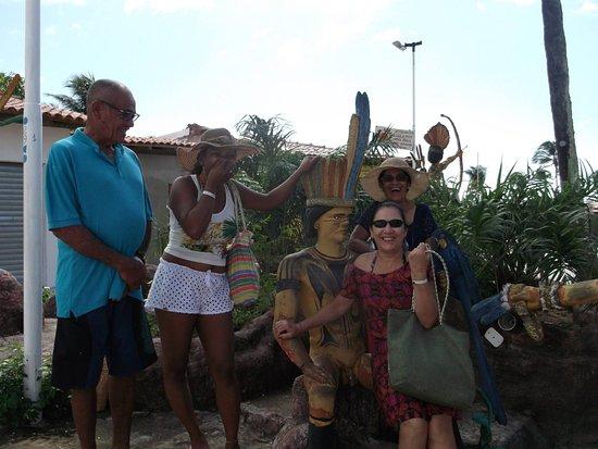 Santa Cruz Cabralia, BA: Muita diversão na hora de tirar as fotos