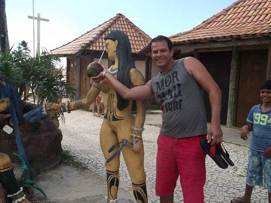 Santa Cruz Cabralia, BA: muito divertido e interessante o local