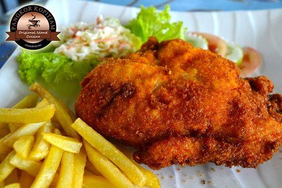 Pulau Pangkor, Malaysia: Chicken Cordon Bleu