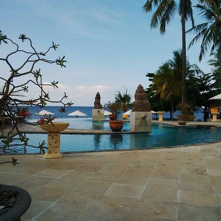 Kubu, Индонезия: schöner kleiner Pool
