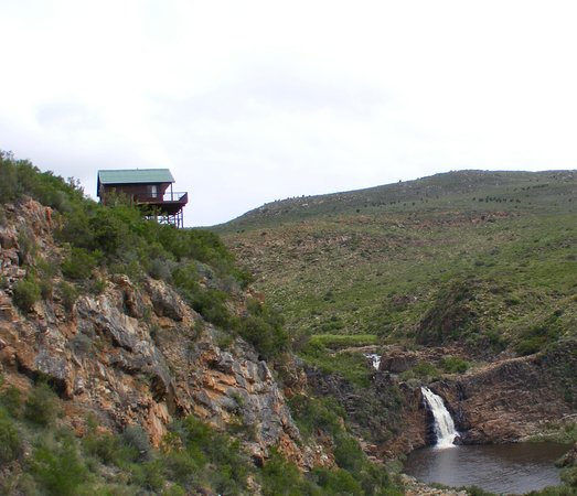 Uniondale, Afrika Selatan: Our famous view into Eagle Falls