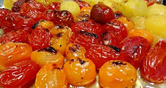Appomattox, VA: Roasted Heirloom Tomatoes
