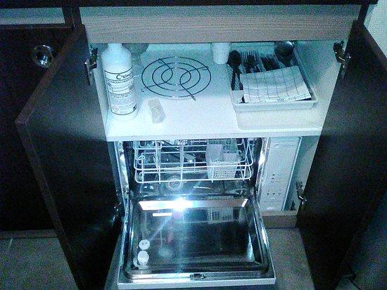 Appart'City La Roche sur Yon Centre : le lave-vaisselle