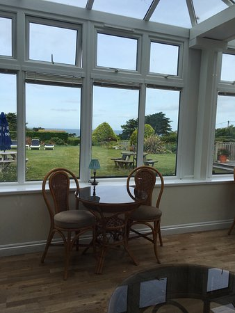 Constantine Bay, UK: Sun room