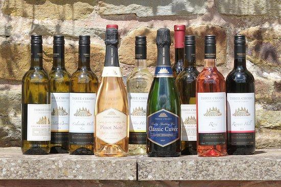 Three Choirs Vineyard : Wine selection