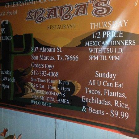 Mana S Restaurant