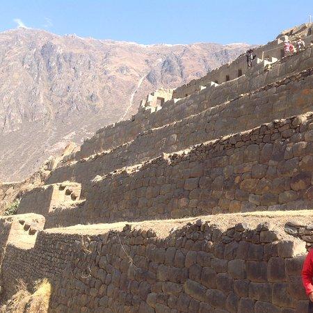 El Albergue Ollantaytambo: Inka Archaeological Site, Ollantaytambo. Well worth the trek to the top.