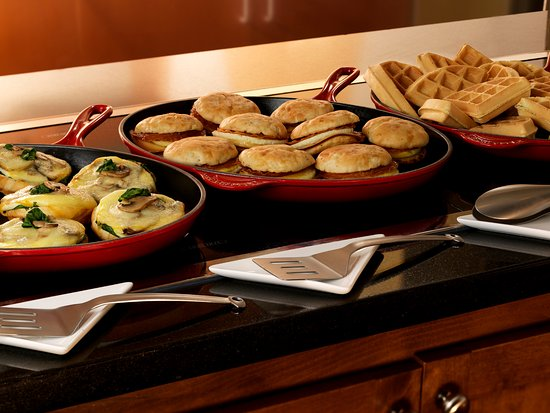 Incredible Enjoy Complimentary A M Kitchen Skillet Breakfast Buffet Download Free Architecture Designs Lectubocepmadebymaigaardcom