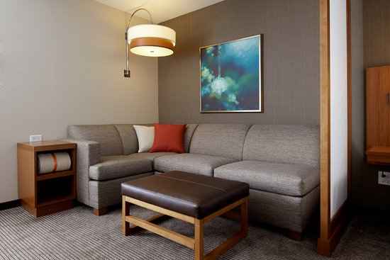 Every room has a Cozy Corner Sleeper Sofa - Picture of Hyatt ...
