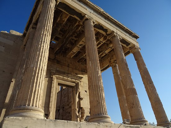 Old Temple of Athena -...