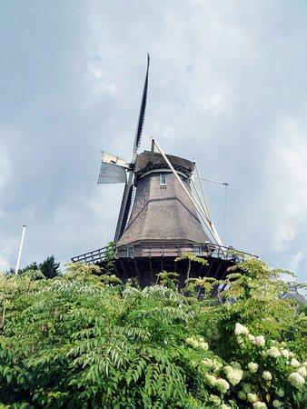 Sloten, Pays-Bas : Esterno del mulino
