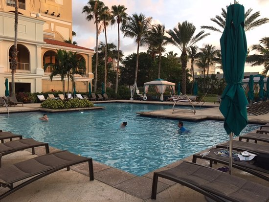 The Ritz Carlton Sarasota Hotel Pool