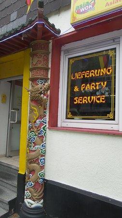 Marl, Germany: asia wok
