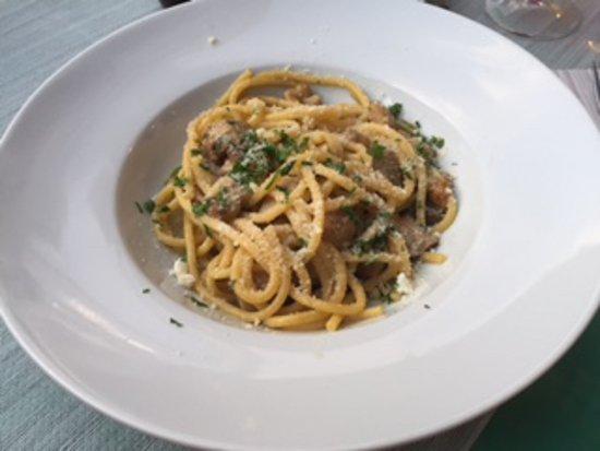 Chianni, Italia: Pasta funghi porcini