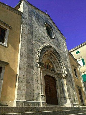 San Casciano dei Bagni, Italia: Collegiata dei Santi  Leonardo e Cassiano