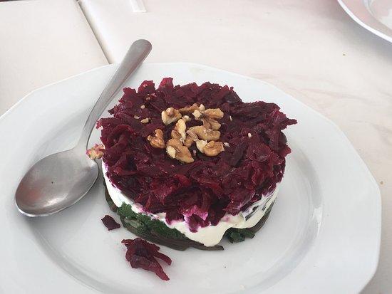 Kionia, Grecia: Génial terrine betterave épinard yaourti