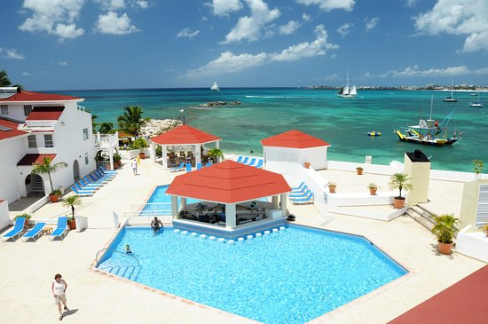 Simpson Bay Resort & Marina: Marina Pool