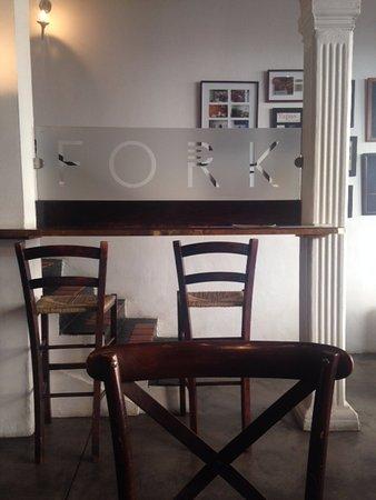 Fork Restaurant: Downstairs of restaurant