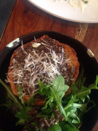 Fork Restaurant: risotto tart