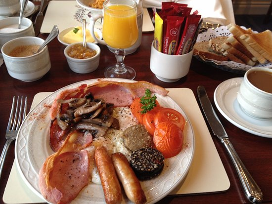 Monkstown, Irlanda: Full Irish Breakfast