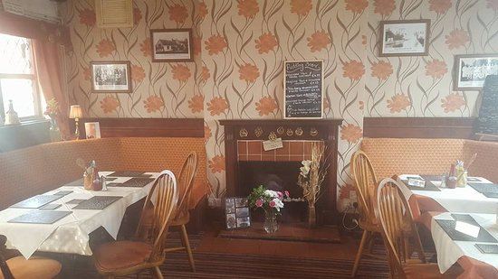 Nether Whitacre, UK: Our dining area and lounge area