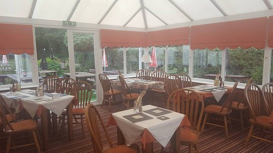 Nether Whitacre, UK: our conservatory and dining area