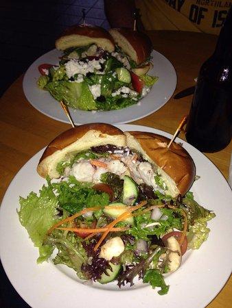 Port Hood, แคนาดา: Sandwich de langosta (lobster sandwich)