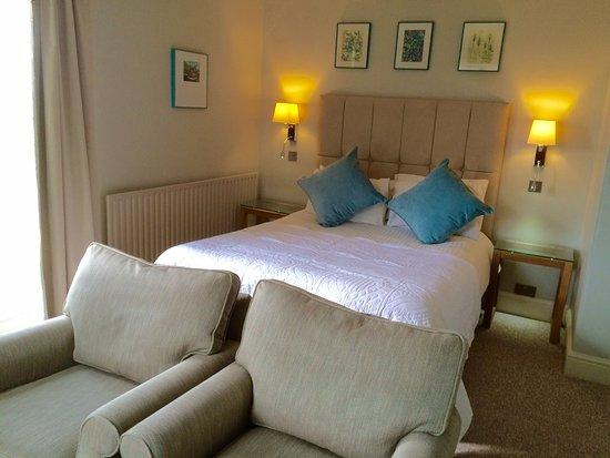 Isley Walton, UK : A hotel bedroom