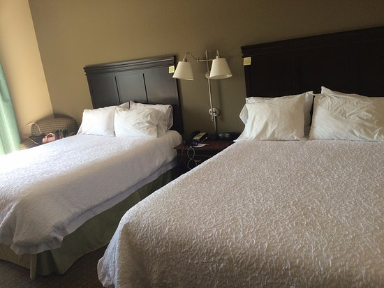 Hampton Inn Rochester-Irondequoit: 2 queen beds
