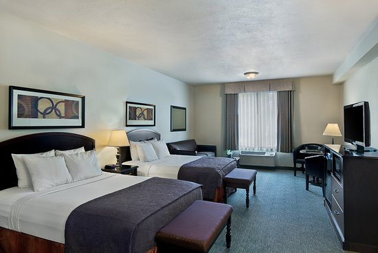 Oxford Suites Downtown Spokane: Studio Double Queen Suite