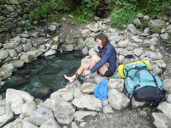 Merens-les-Vals, Frankreich: halte bienfaitrice aux sources chaude et thermales de Merens les vals