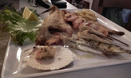 Ristorante Da Giustina : Grigliata mista di pesce