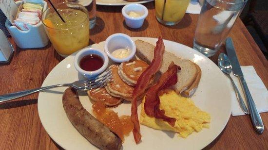 Sarabeth's Tribeca: Lumberjack Breakfast