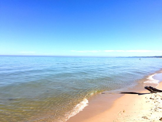 Grant, MI: The beach area