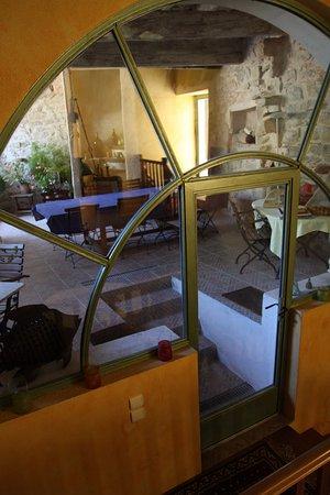 Talairan, France: La salle du petit déjeuner